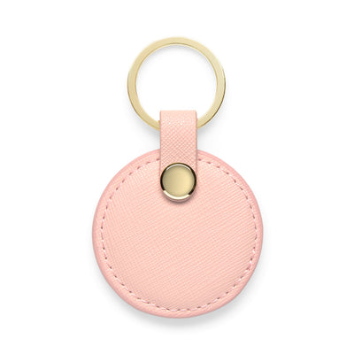 Circle Keyring - Pale Pink