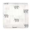 Muslin Wrap - Busy Bear