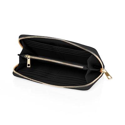 Continental Wallet - Black