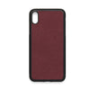 iPhone Xs Max Case - Burgandy