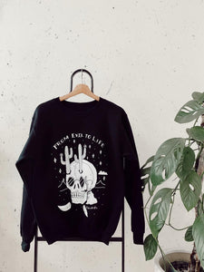 From Evil to Life Crewneck