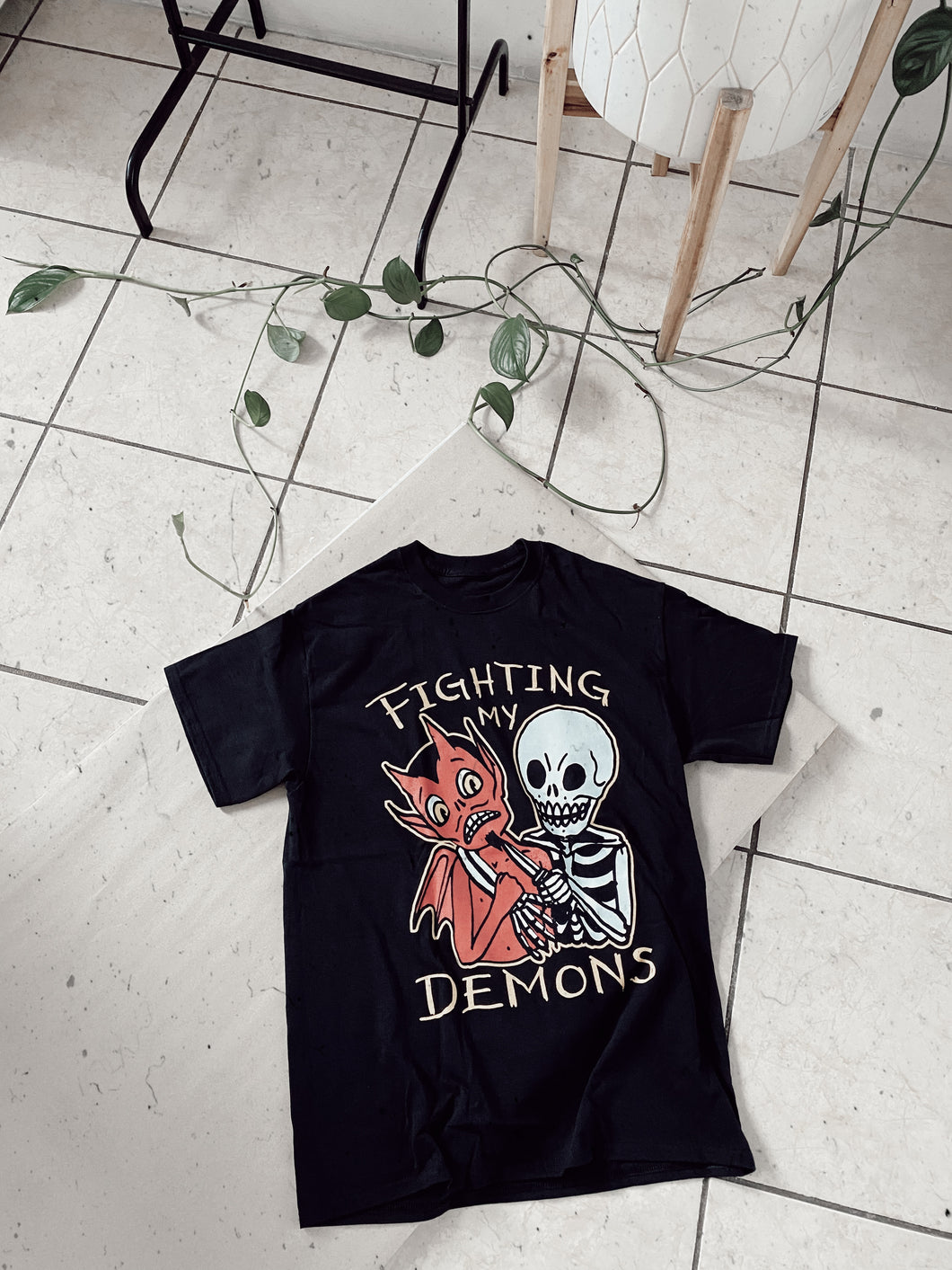 FIGHTING MY DEMONS T-shirt