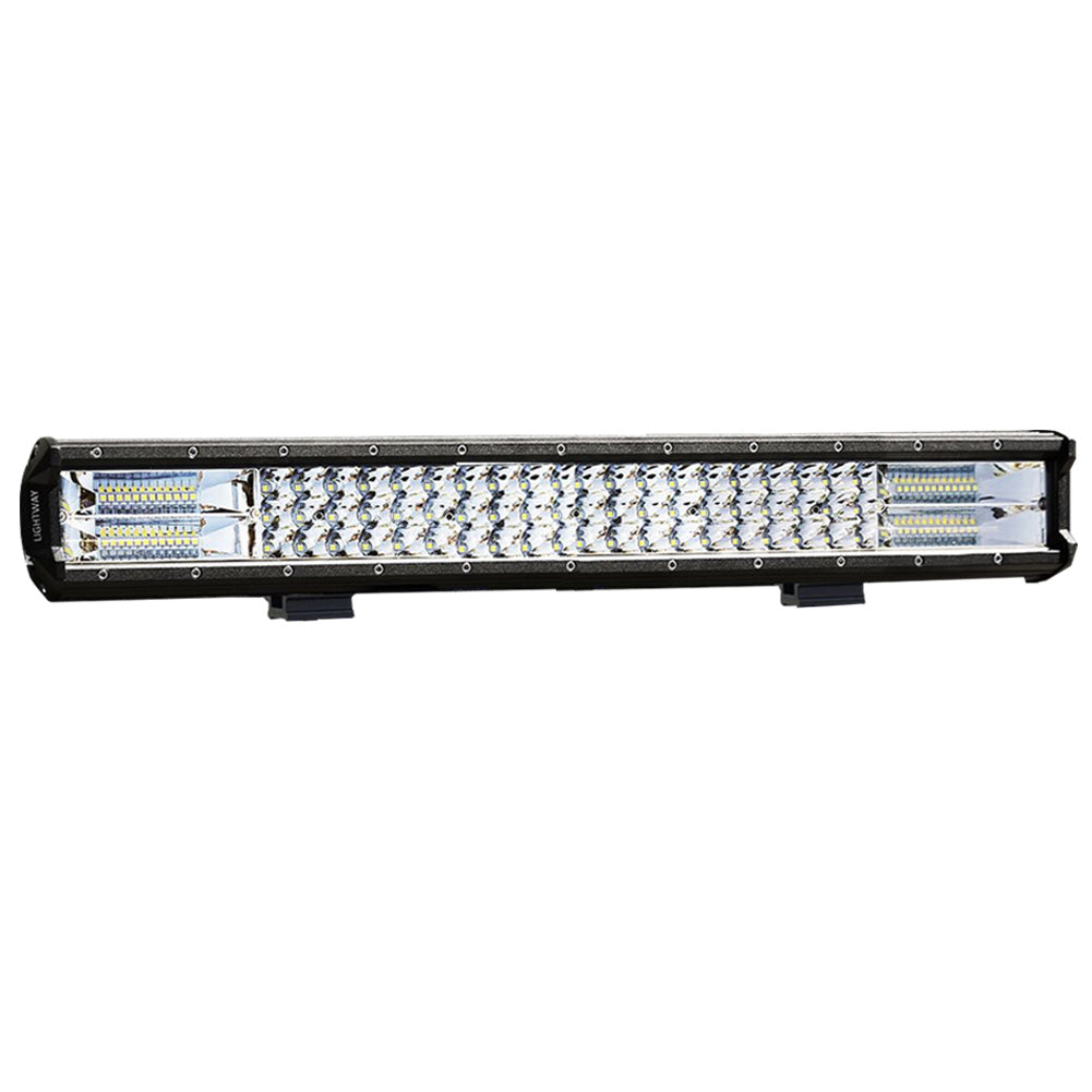 23inch LED Light Bar Spot Flood Combo Offroad Driving Work 4WD Truck 4X4