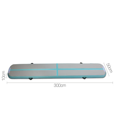 Slim Inflatable Air Mat Mint and Grey | Retail Discount
