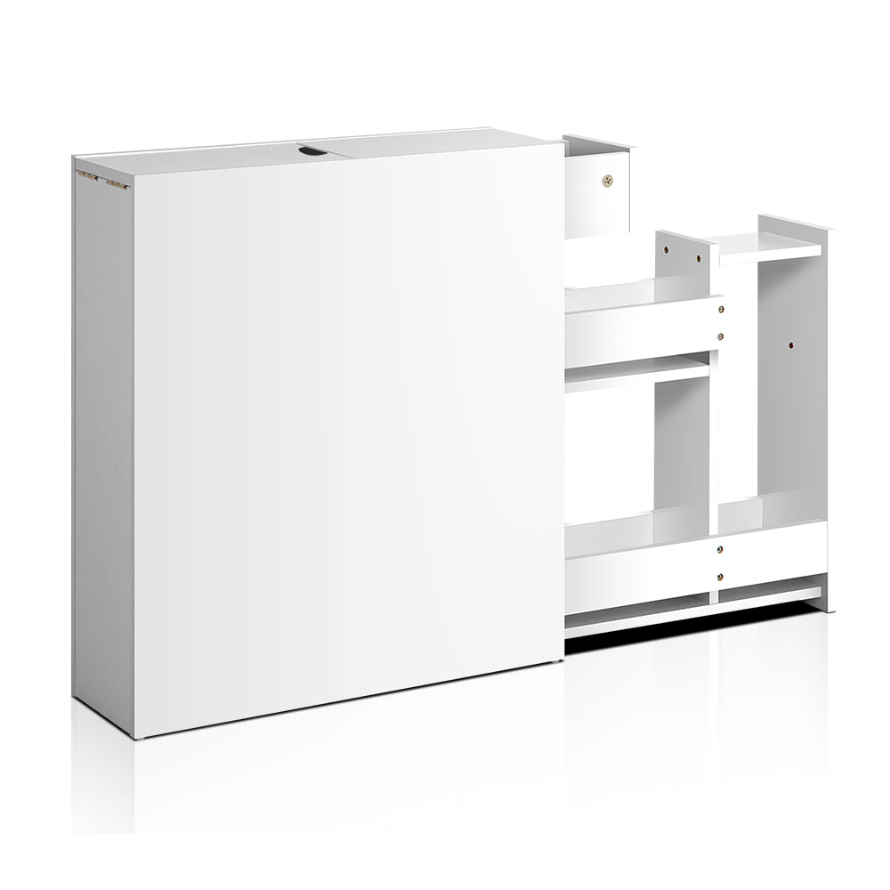 Bathroom Storage Cabinet White - Retail Discount