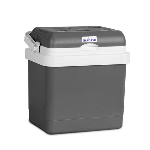 25L 2 in 1 Portable Cooler and Warmer Grey