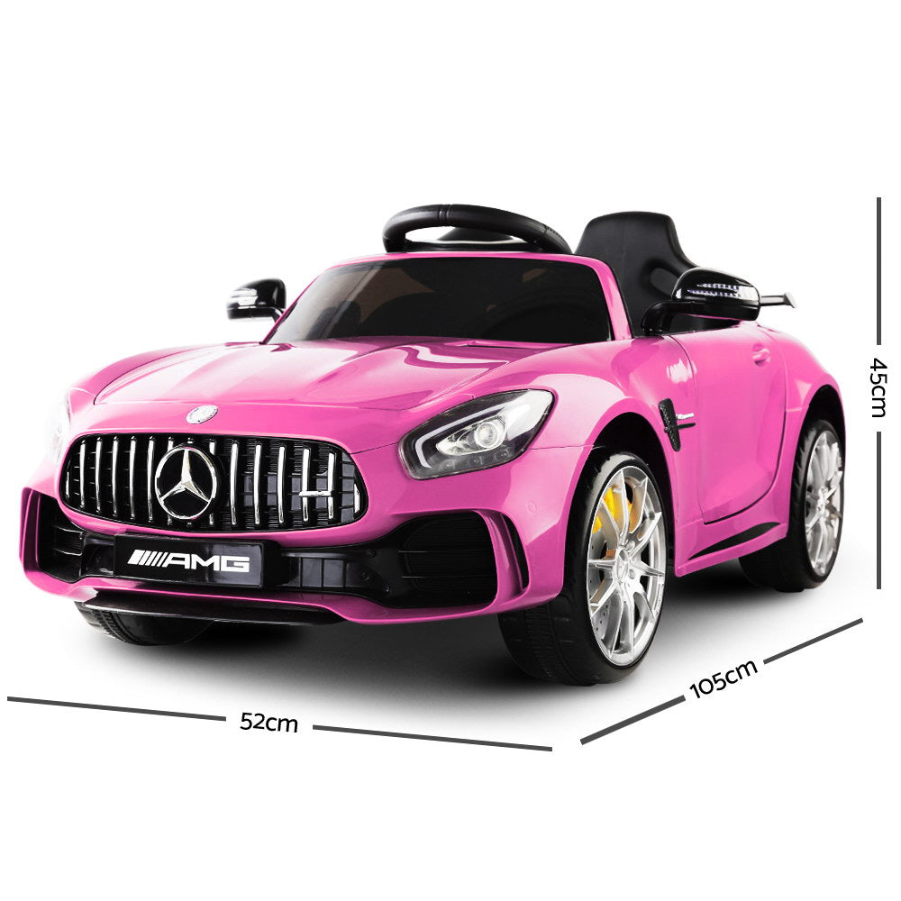 Kid's Ride on Mercedes-AMG GT R – Pink