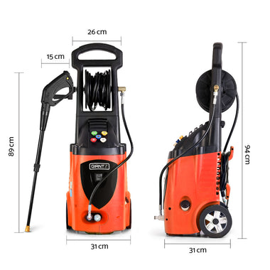 High Pressure Washer with Accessories | Retail Discount