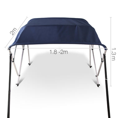 1.8-2M Boat Top Canopy - Blue | Retail Discount