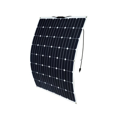 12V 200W Flexible Solar Panel Generator Caravan Camping Power Mono Charging Kit