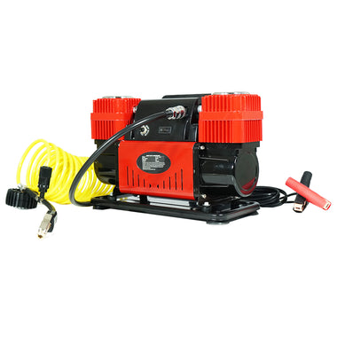 12V Air Compressor 4x4 Tyre Deflator Car 4wd Portable Inflator 220PSI 300L/min | Retail Discount