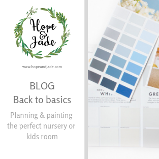 Back to basics: Planning & painting the perfect nursery or kids room