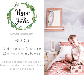 Kids room feature - Top tips for transforming a room without breaking the bank