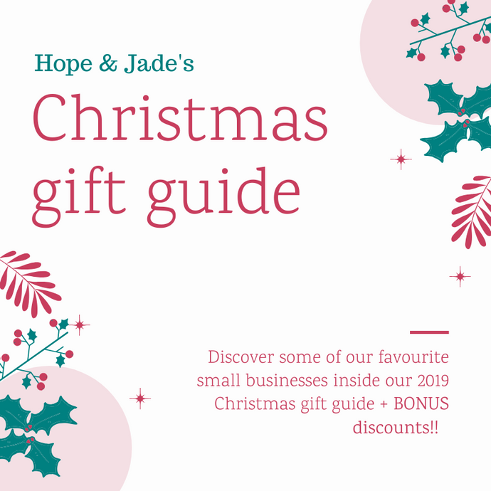 Hope & Jade Christmas small business gift guide