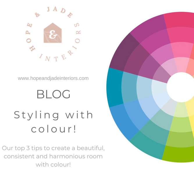 Top 3 tips to styling with colour!