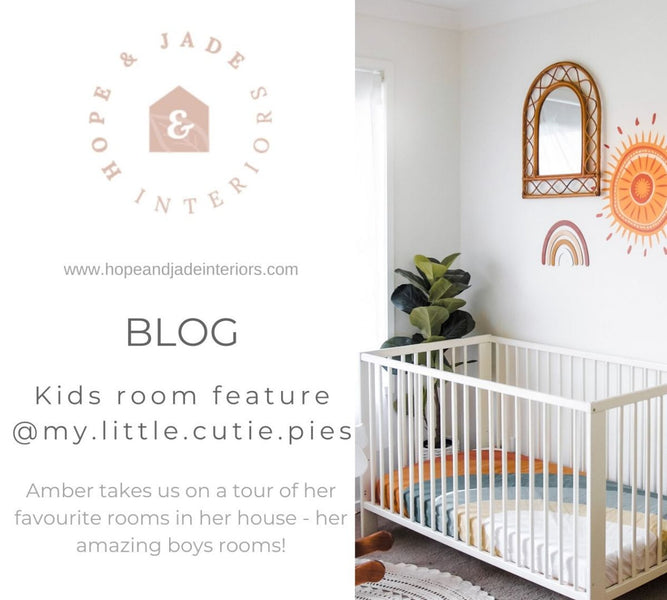 Kids room feature - Creating beautiful kids spaces with DIY projects and market finds.