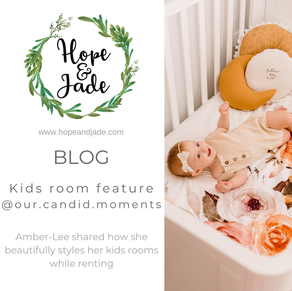 Kids room feature - How to beautifully transform a kids room while renting