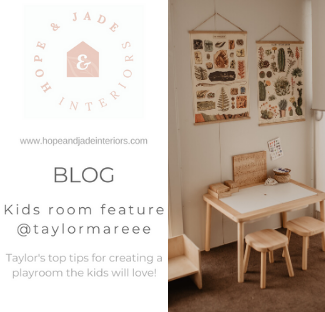 Kids room feature - Top tips for creating a play room the kids will love!
