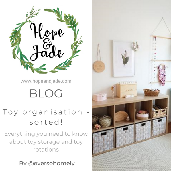 Toy storage & Toy rotation systems with Ever So Homely
