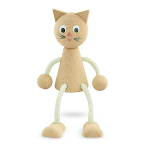 Wooden sitting kitty - Hope & Jade