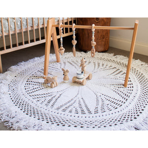 Crochet rug 150cm - Willow PRE-ORDER MID OCTOBER - Hope & Jade