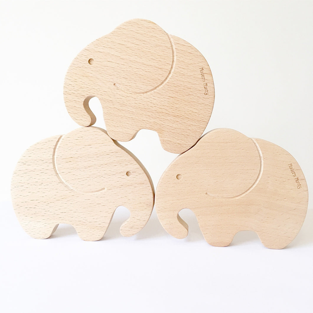 Elephant Teether Toy - Hope & Jade