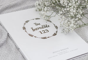 The Incredible 123 keepsake book