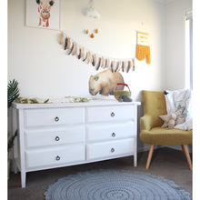 Load image into Gallery viewer, Crochet rug 120cm - Peyton PRE-ORDER MID OCTOBER - Hope & Jade