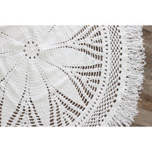 Load image into Gallery viewer, Crochet rug 150cm - Willow PRE-ORDER MID OCTOBER - Hope & Jade