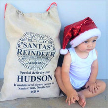 Load image into Gallery viewer, Santa Sack - Personalised Special delivery design