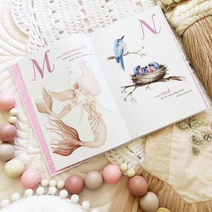 The Enchanting ABC keepsake book (Pre-order NOV)