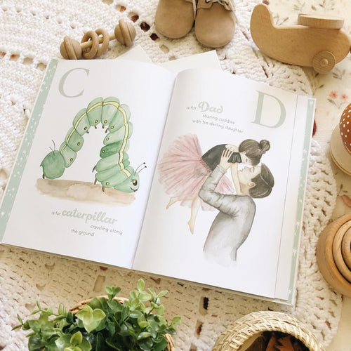 The Amazing ABC keepsake book