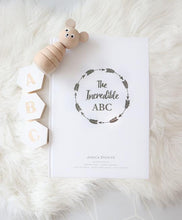 Load image into Gallery viewer, The Incredible ABC keepsake book