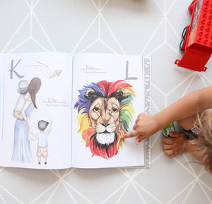 The Incredible ABC keepsake book