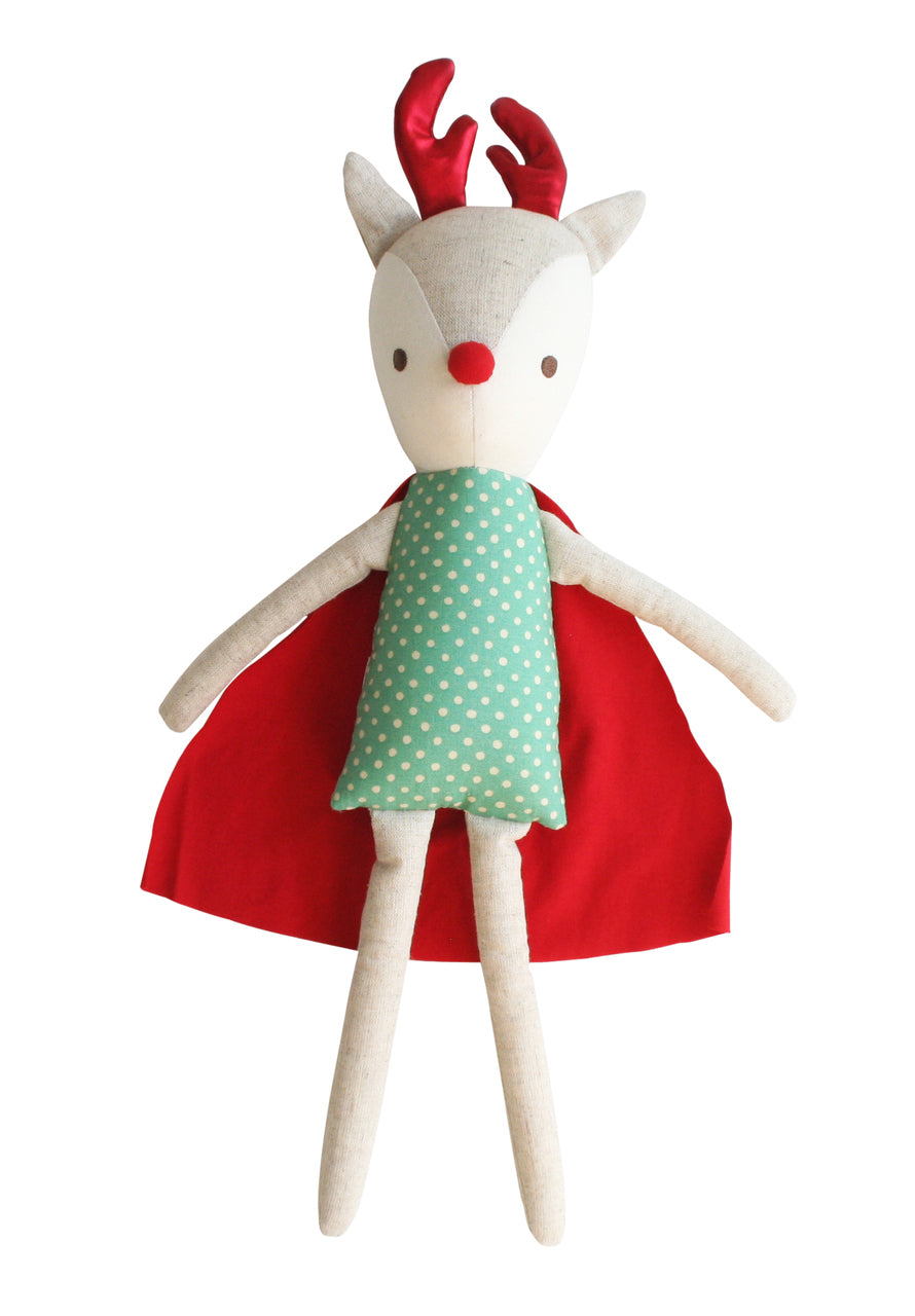 Rudolph red & green super hero - 50cm