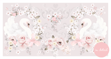 Load image into Gallery viewer, Schmooks - Swan Garden Floral Wall Sticker Decal