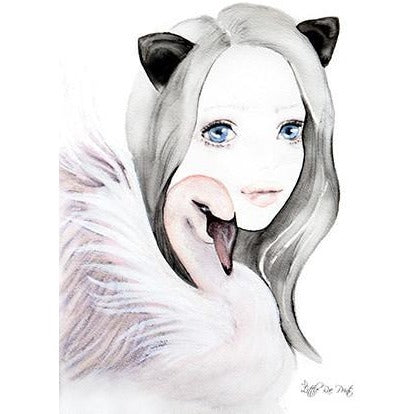 Odette - Watercolour print