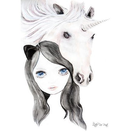 Elody - Watercolour print