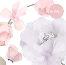 Load image into Gallery viewer, Schmooks - Bows and Roses Wall Sticker