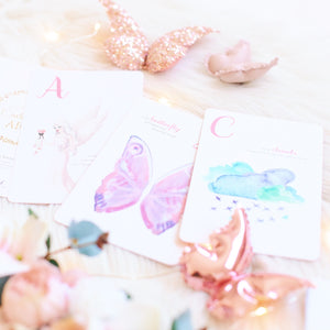 The Enchanting ABC learning flash cards