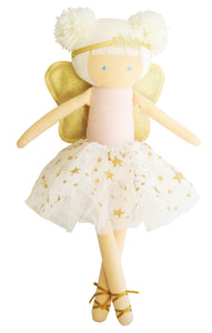 Angel doll 50cm pink and gold