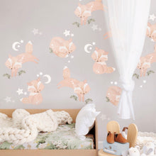 Load image into Gallery viewer, Schmooks - Friendly Foxes Woodland Wall Sticker decals
