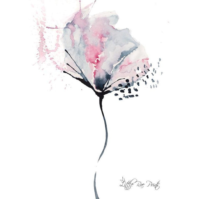 Poppy 3 - Watercolour print - Hope & Jade