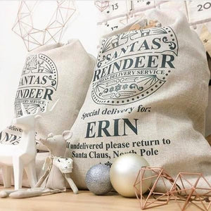 Santa Sack - Personalised Special delivery design