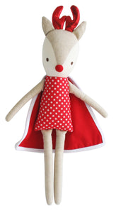 Rudolph red & white super hero - 50cm