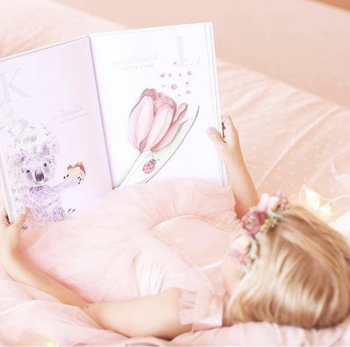 The Enchanting ABC keepsake book