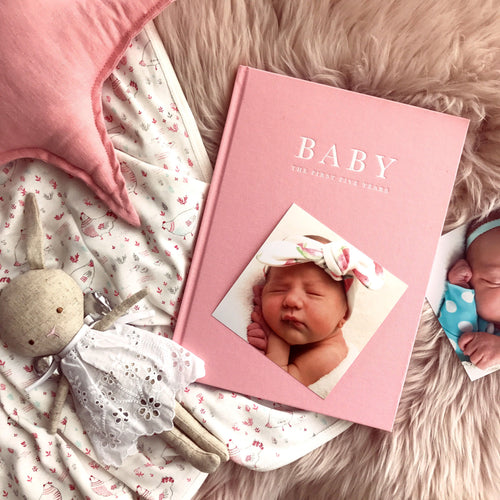 Baby Journal - Birth to five years PINK