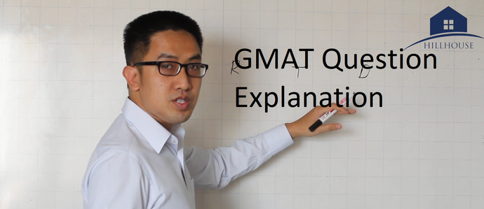 GMAT Question of the Week Explanation #1