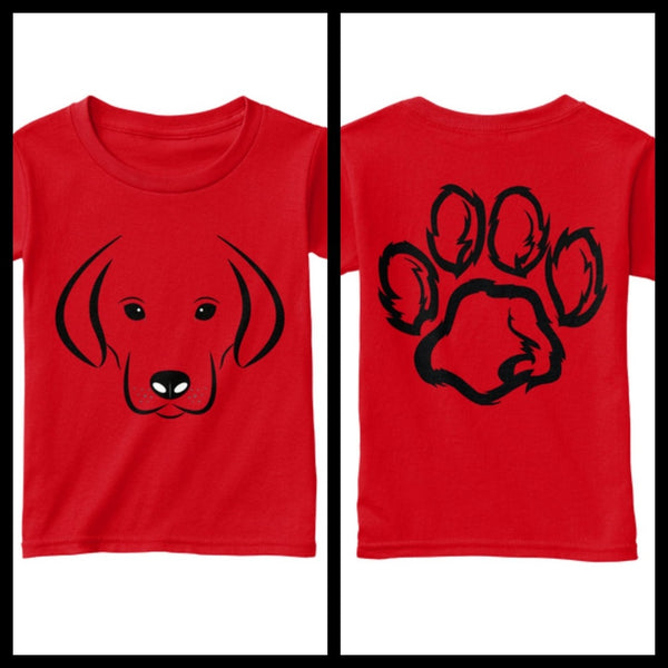 Puppy Paw T- Shirt - eClick Shopping Express