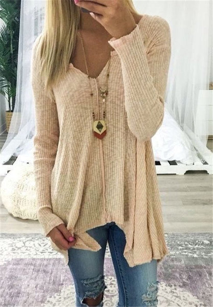 Casual Long Sleeve Winter Tops